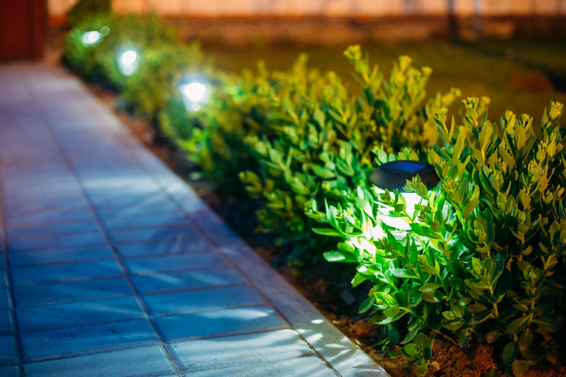 sidewalk light